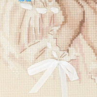 Riolis counted cross stitch Kit Forget Me Not, DIY