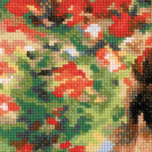 Riolis counted cross stitch Kit Camille Monet after C....