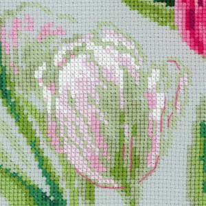 "Riolis Kreuzstich-Set ""Frühling Tulpen"",..."