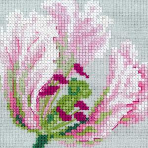 """Riolis Kreuzstich-Set """"Frühling Tulpen"""", Zählmuster"""