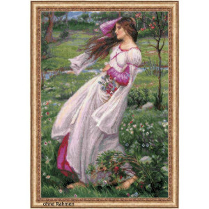 Riolis counted cross stitch Kit Windflowers after J. W....