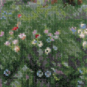Riolis counted cross stitch Kit Windflowers after J. W. Waterhouses Painting, DIY
