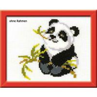 "Riolis Stickbildset Kreuzstich ""Panda"", Zählmuster"