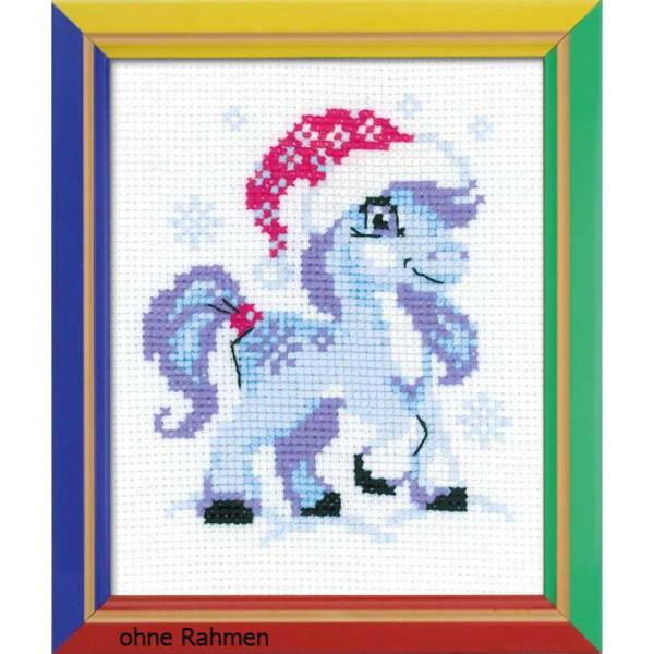 Riolis counted cross stitch Kit Gentle Snow, DIY