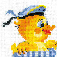Riolis counted cross stitch Kit Sailor, DIY