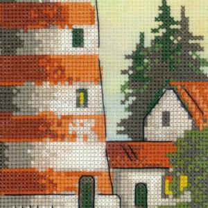 Riolis cross stitch Kit Lighthouse, counted, DIY
