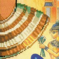 "Riolis Kreuzstich-Set ""Kleopatra"", Zählmuster"
