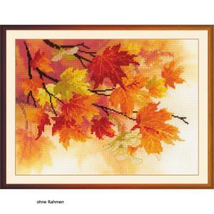 """Riolis Kreuzstich-Set """"Herbstfarben"""",..."""