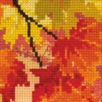 """Riolis Kreuzstich-Set """"Herbstfarben"""", Zählmuster"""