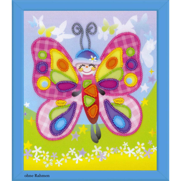 Riolis beads stiching Kit Fairytale Butterfly, DIY
