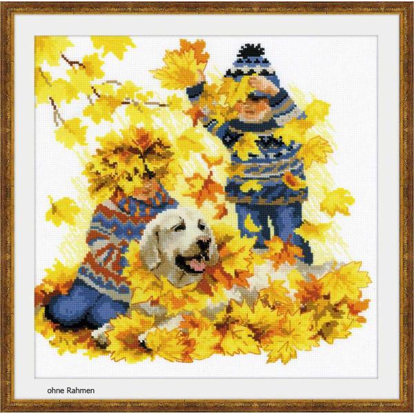 Riolis counted cross stitch Kit Autumn Holidays, DIY