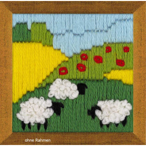 Riolis counted cross stitch Kit Summer Meadow, DIY