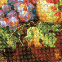 Riolis counted cross stitch Kit Dutch Still Life, DIY