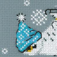 Riolis counted cross stitch Kit Skates, DIY