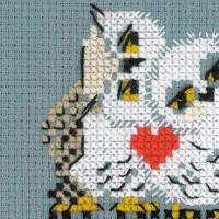 Riolis counted cross stitch Kit Love, DIY