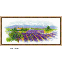 Riolis counted cross stitch Kit Blooming Provence, DIY