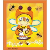 Riolis counted cross stitch Kit Granny Bee, DIY