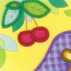 Riolis beads stiching Kit Hedgehog, DIY