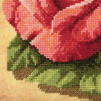"Riolis Kreuzstich-Set ""Rose"", Zählmuster"