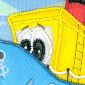 Riolis beads stiching Kit Boat, DIY