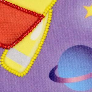 Riolis beads stiching Kit First One in Space, DIY