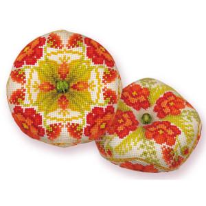 Riolis counted cross stitch Kit Biscournu Poppies, DIY