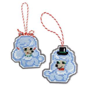 Riolis counted cross stitch Kit Christmas Tree Decoration...