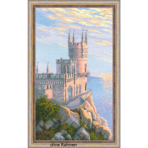 """Riolis Kreuzstich-Set """"Burg Schwalbennest"""",..."""