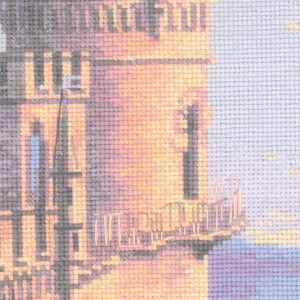 Riolis counted cross stitch Kit Swallows Nest, DIY