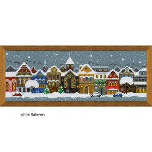 """Riolis Kreuzstich-Set """"Weihnachtsstadt"""",..."""