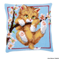 Vervaco stamped cross stitch kit cushion Hanging, DIY