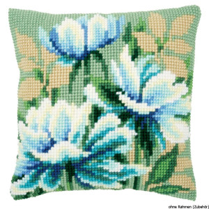 Vervaco stamped cross stitch kit cushion Japanese...