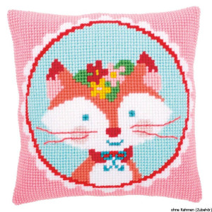 """Vervaco Cross stitch kit cushion """"laughing..."""