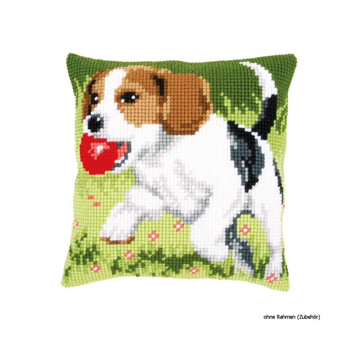 research.unir.net Vervaco Spotted Little Dog Cushion Cross Stitch ...