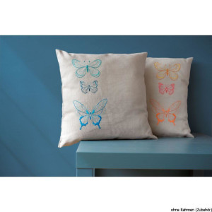 Vervaco embroidery stitch kit cushion with cushion back...