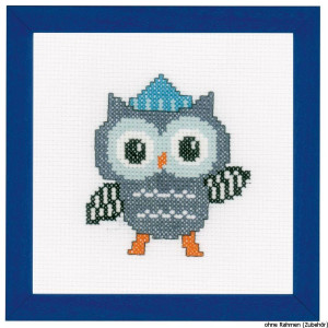 """Vervaco cross stitch kit counted """"owl with..."""