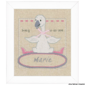 """Vervaco cross stitch kit counted """"goose with..."""