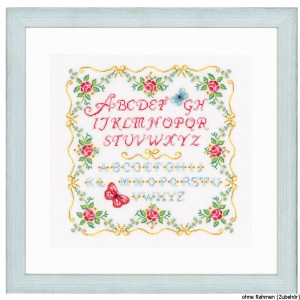 """Vervaco cross stitch kit counted """"roses with..."""