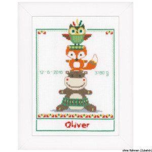 """Vervaco cross stitch kit counted """"baby"""", DIY"""