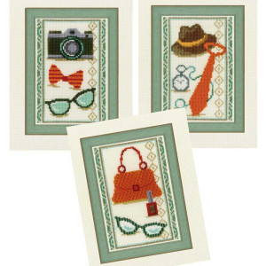 """Vervaco miniatures stitch embroidery kit """"Vintage..."""