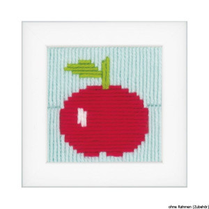 """Vervaco long stitch embroidery kit """"Apple"""",..."""