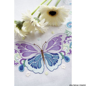 """Vervaco twin table runner stitch kit """"the most..."""