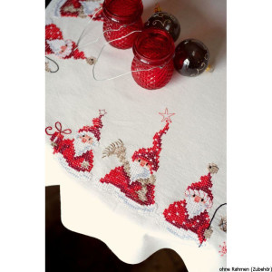 Vervaco tablecloth stitch embroidery kit kit Christmas...