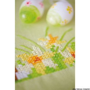 Vervaco tablecloth stitch embroidery kit kit Easter...